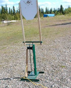 Revolving Metal Gun Target for Shooting Sport Clubs